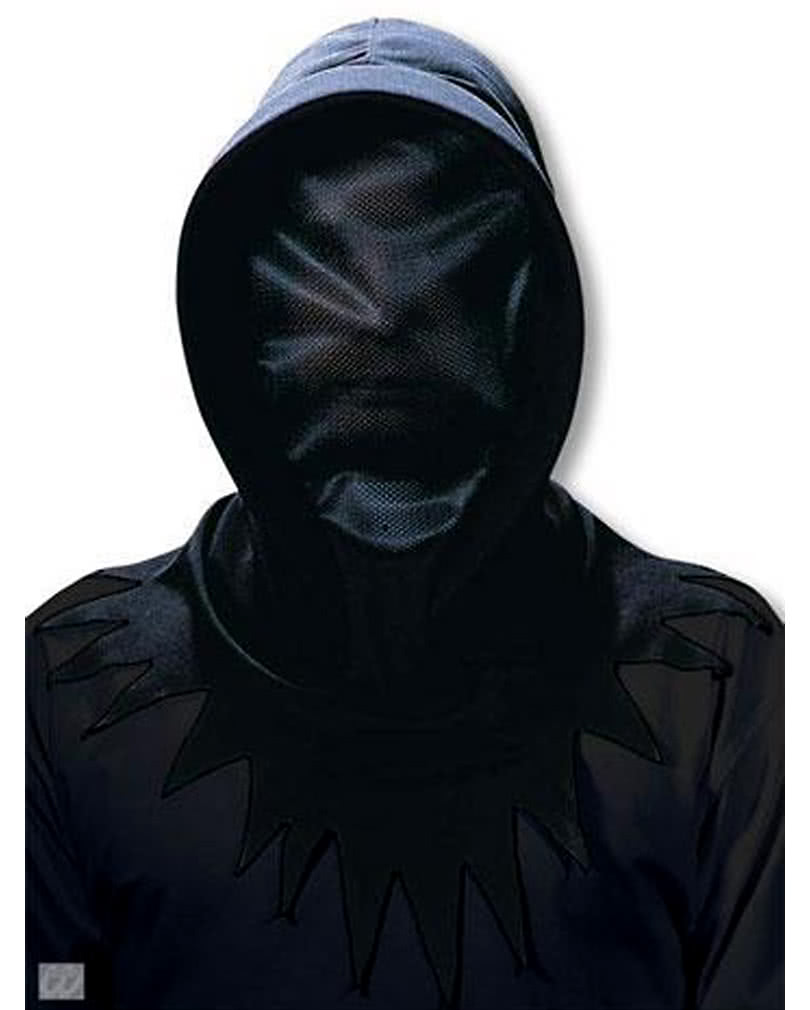 Invisible black Phantom mask Halloween Hood Mask | horror-shop.com