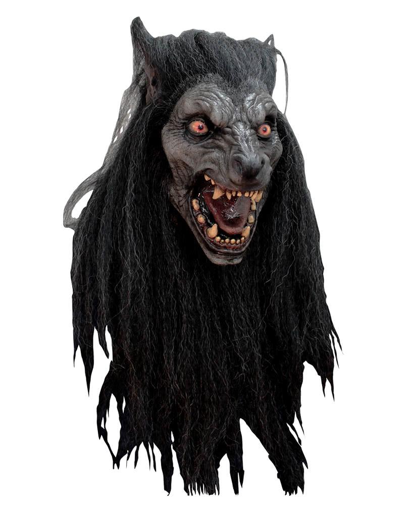 Black Moon Werewolf Mask | Cheap Halloween Masks | horror-shop.com