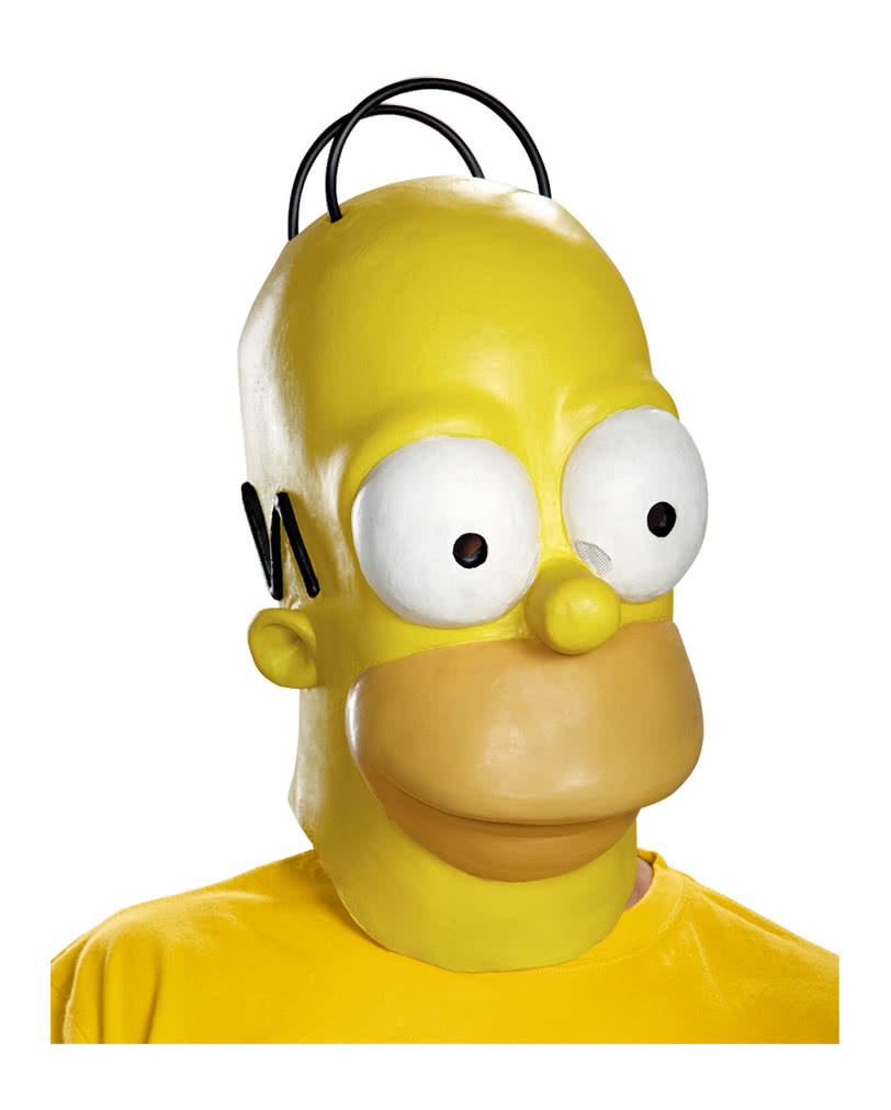 Homer Simpson mask Homer Simpson Costume Accessories | horror-shop.com