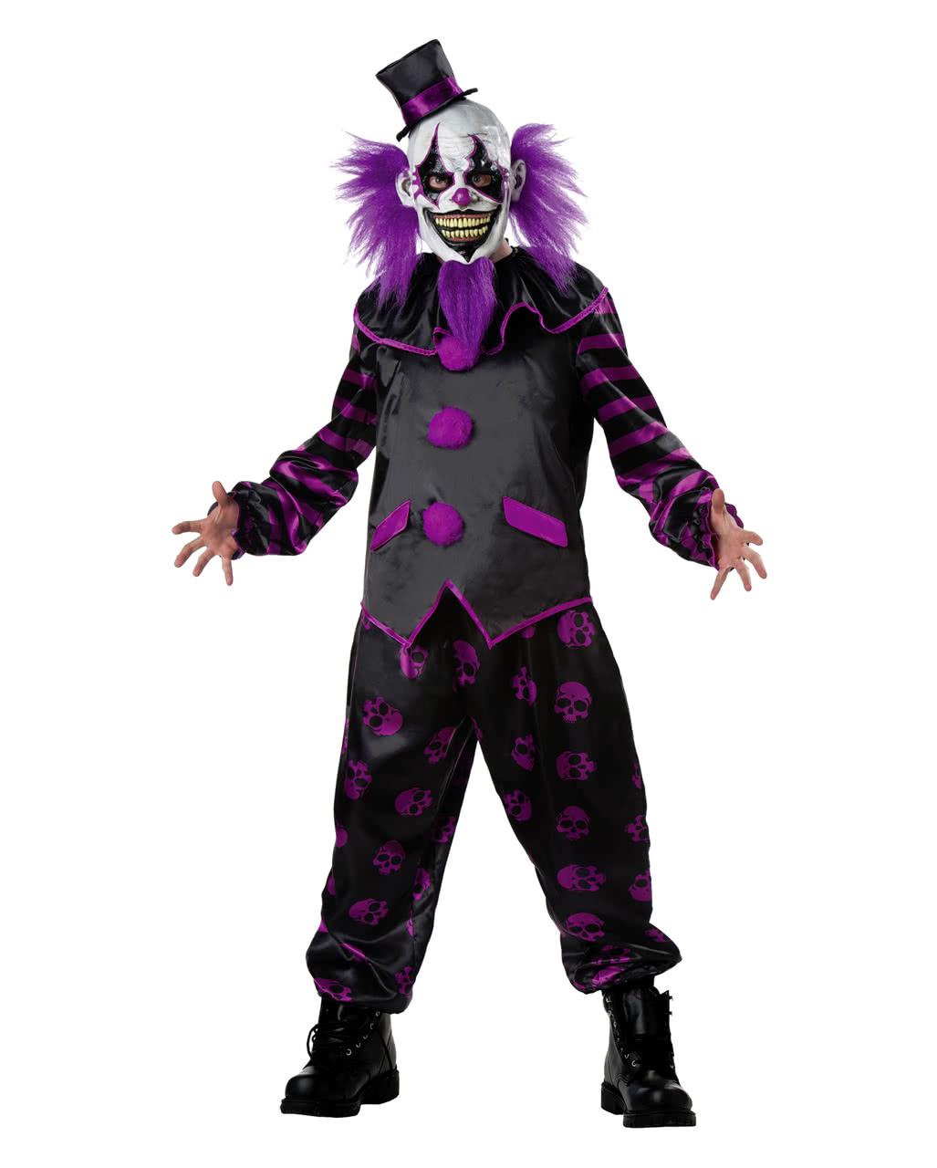 Horror clown costume with mask | Horror panel | horror-shop.com