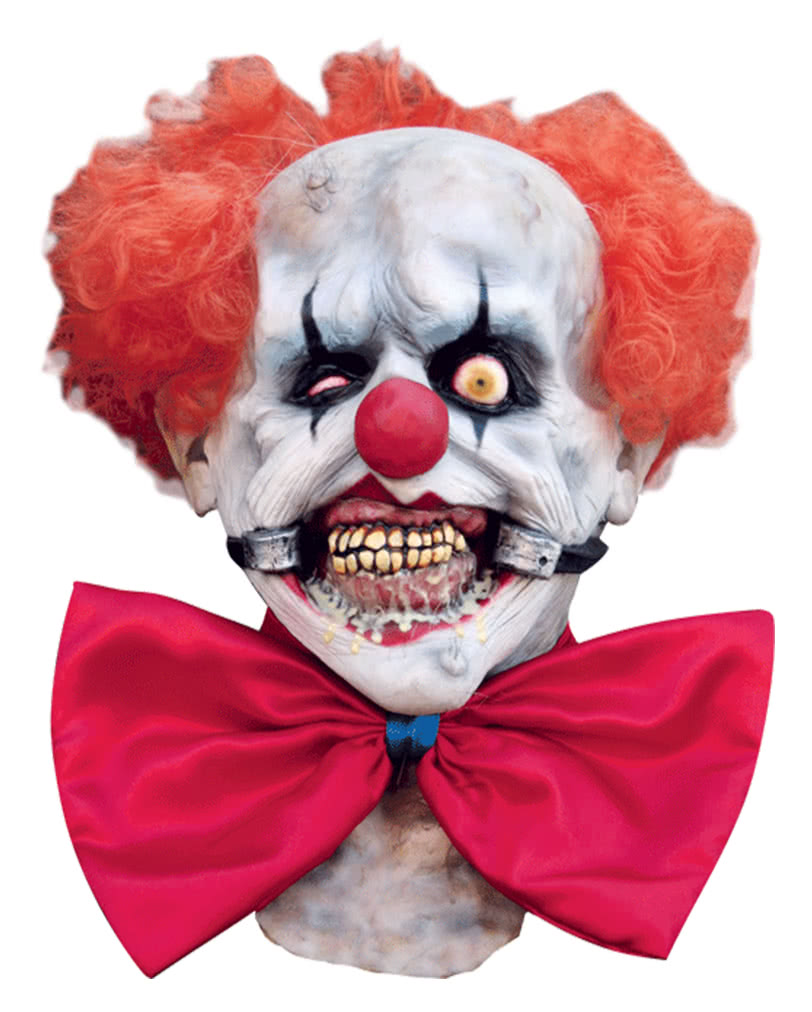 Deadly Smiley Clown Mask | Horror Clown Mask Latex | horror-shop.com