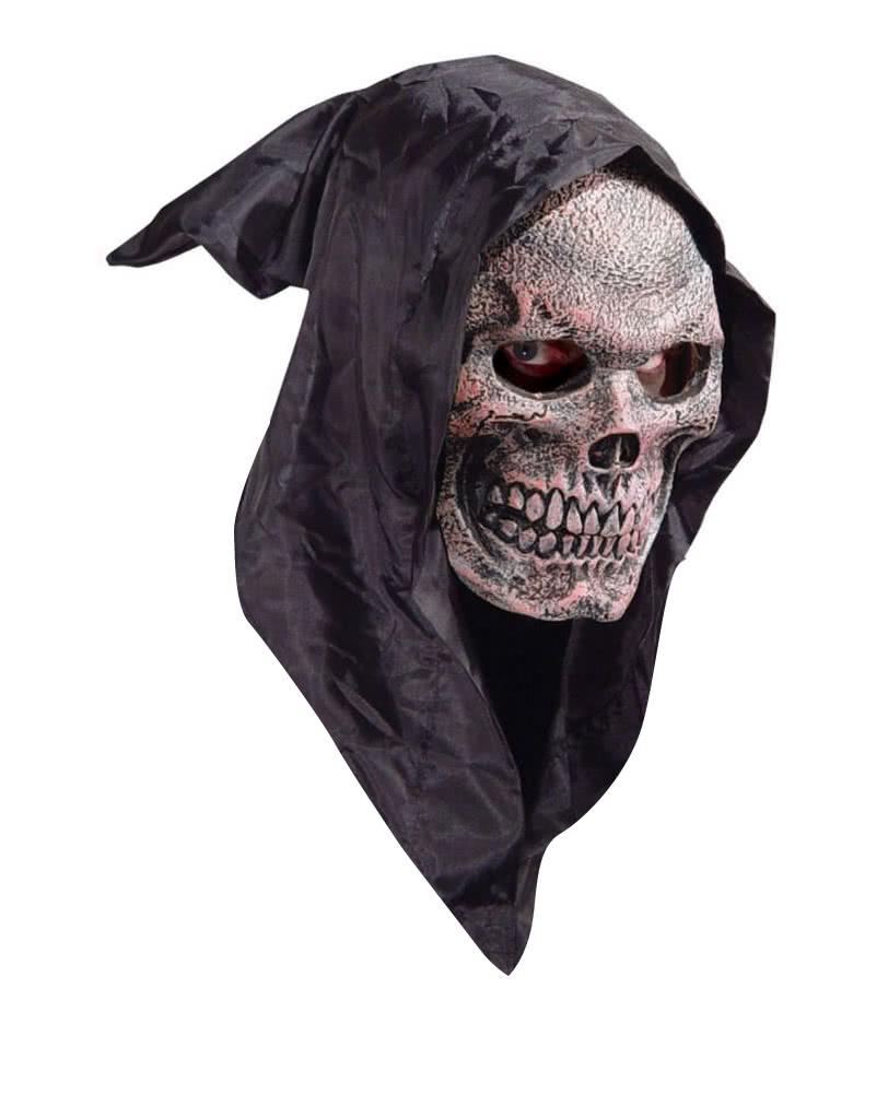 Hooded Skull Mask | Reaper mask for Halloween | horror-shop.com