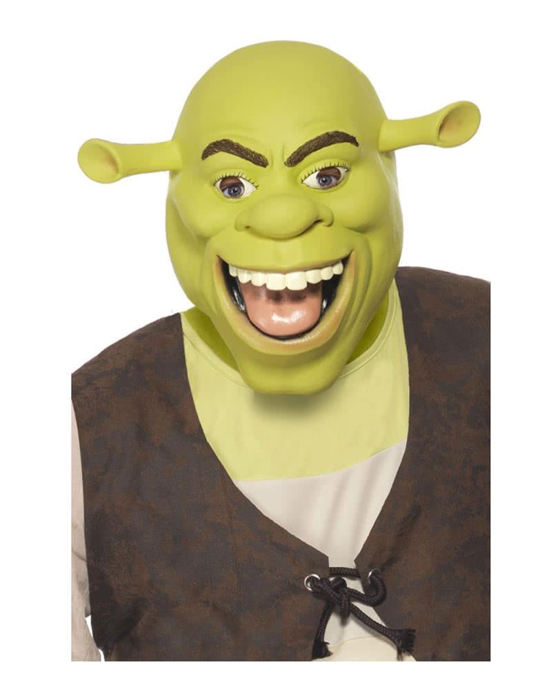 Original Shrek Latex Mask as a licensed Shrek Memorabilia   horror ...