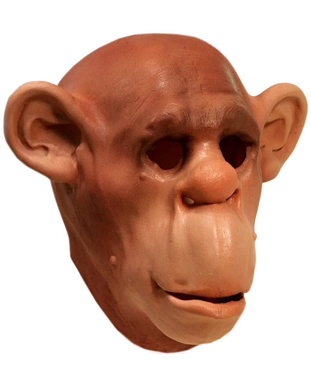 Chimpanzees Foam Latex Mask as Monkey's Mask | horror-shop.com