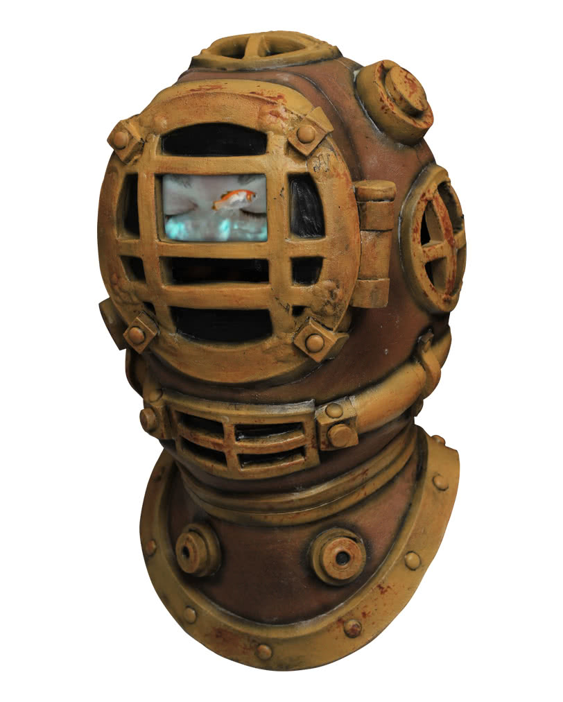 Steampunk Mask Diving Bell | Latex masks in steampunk look ...
