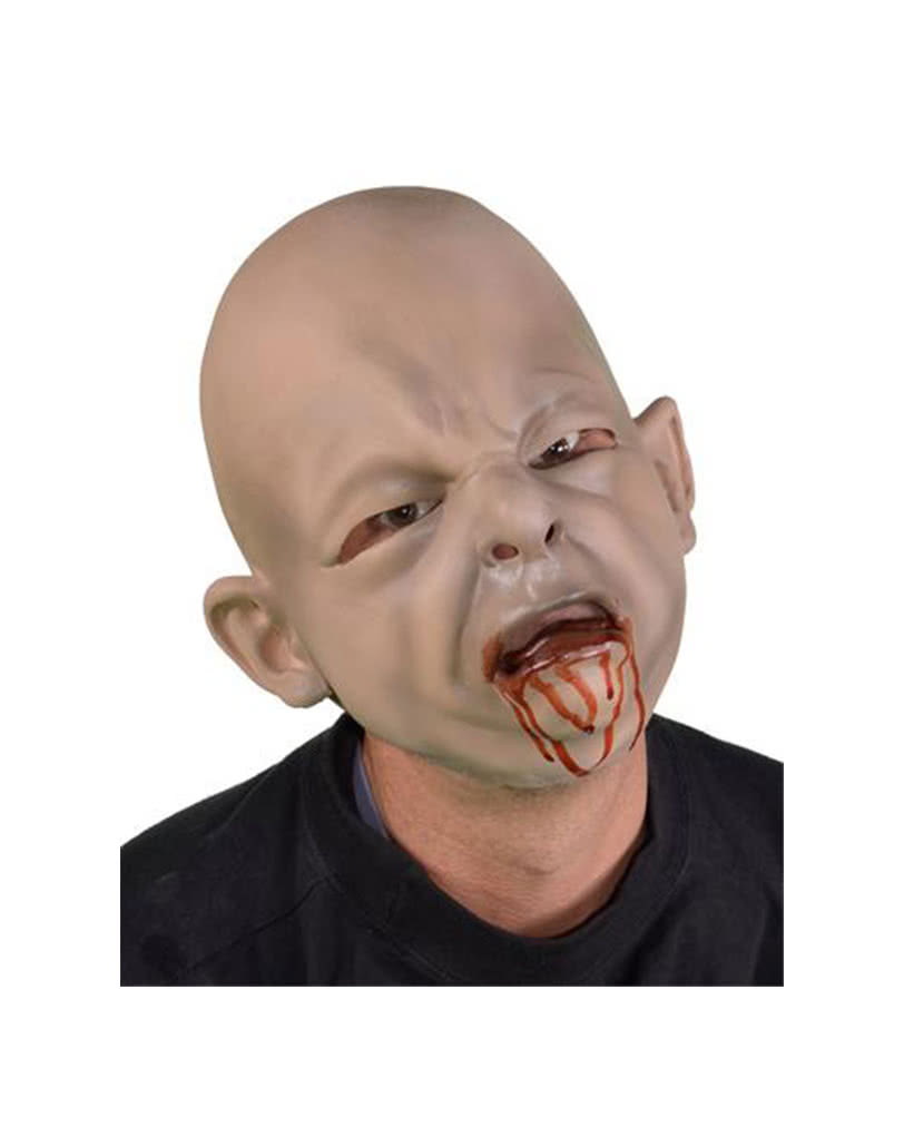 Zombie Baby Latex Mask | As a monstrous baby mask | horror-shop.com