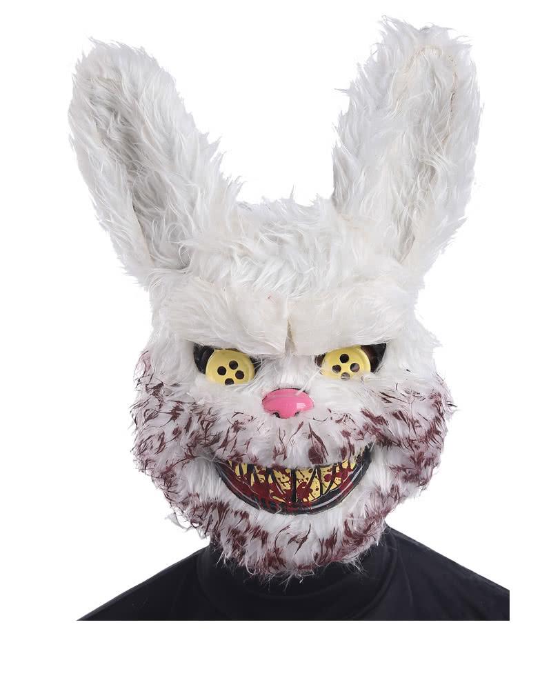 Zombie rabbit mask Zombie Bunny as Tiermaske   horror-shop.com