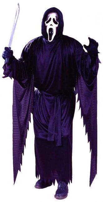 Scream costume with mask