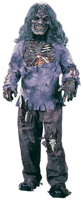 Zombie Deluxe Child Costume Small