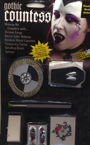 Vampire Countess Make Up Kit