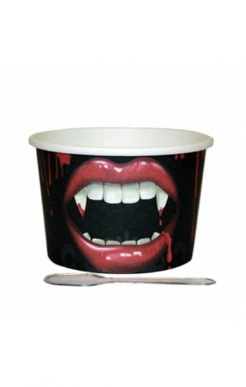 12 Dessert Cup Of Vampire Bite With Spoon