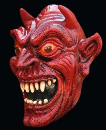 Satin Devil Maske