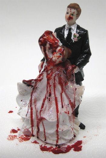 Brautpaar mit geköpfter Braut 17cm