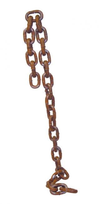 Rostige braune Eisenkette small