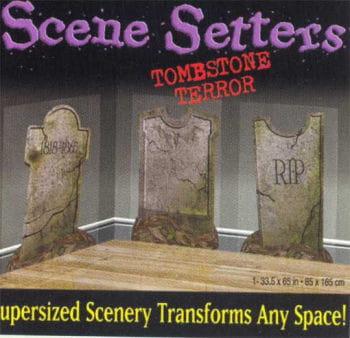 Grave stone decoration film