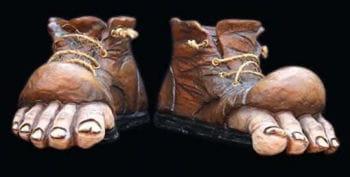 Leprechaun Boots Latex