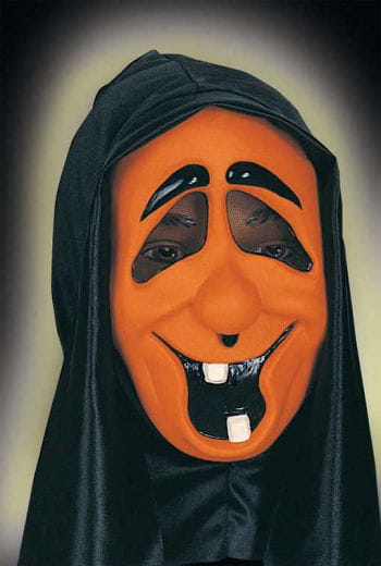 Child Funny Ghost Mask Toothy Orange
