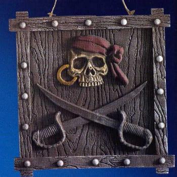 Piraten Party Schild