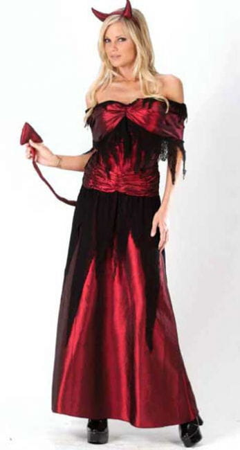 Devil's Witch Costume Gr. SM 36-38