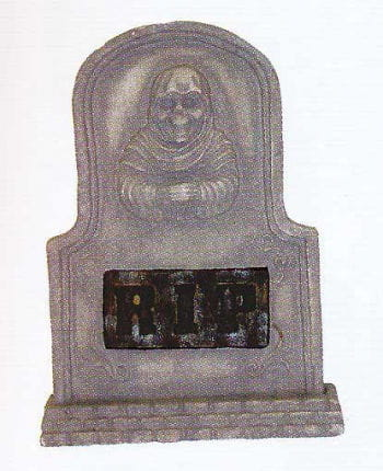 Tombstone RIP God of Death