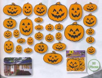 Pumpkin Decoration Set 30teilig