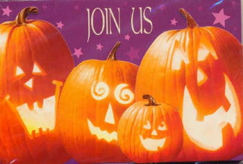 Halloween Party Invitations Pumpkin 8 St.