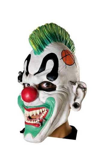 Punk Clown Maske