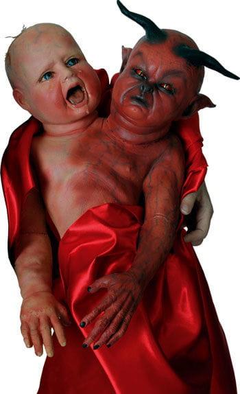 Evil Twins Handpuppe