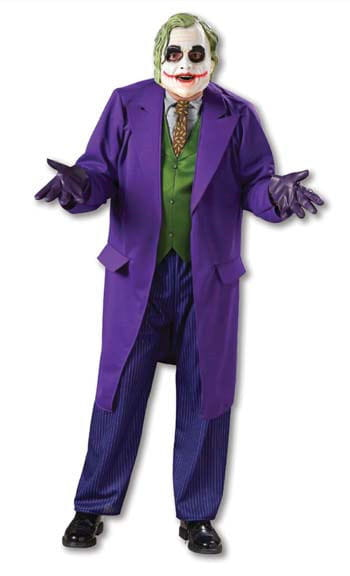 Joker Dark Knight Kostüm Gr. XL 54-56