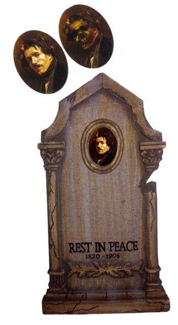 Tombstone Hologram Portrait Dave Slaughter 72cm