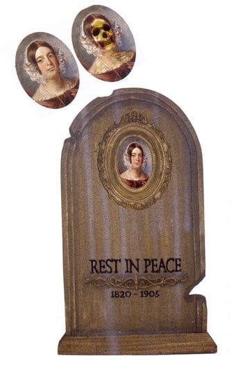 Tombstone Hologram Portrait Betty Gruesome 72cm