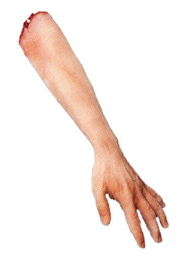 Left Arm with Elbow Latex