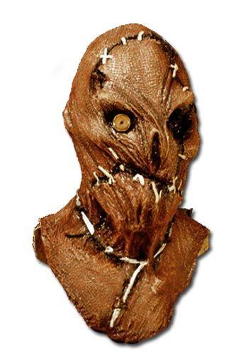 Buttonhole Scarecrow Mask