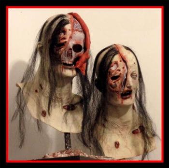 Autopsie Zombie Maske