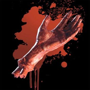 Scalded Vinyl Hand