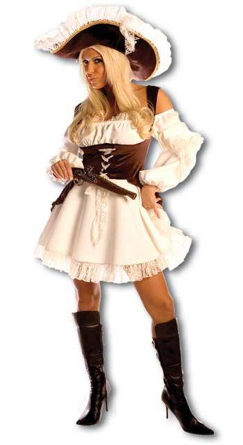 Romantic Pirate Bride Costume Size L / 40-42