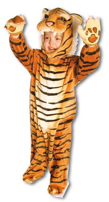 Kuschel Tiger Kostüm Gr. M