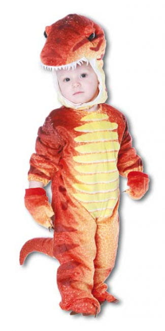 Dino Rex Costume Red S