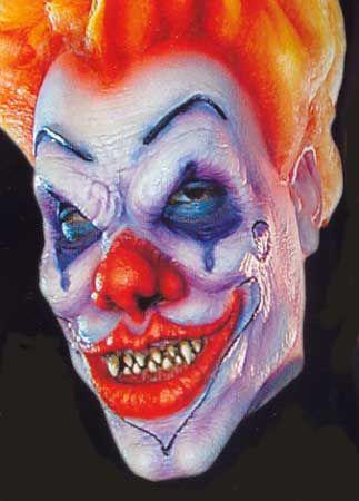 Evil Clown Foam Latex Mask