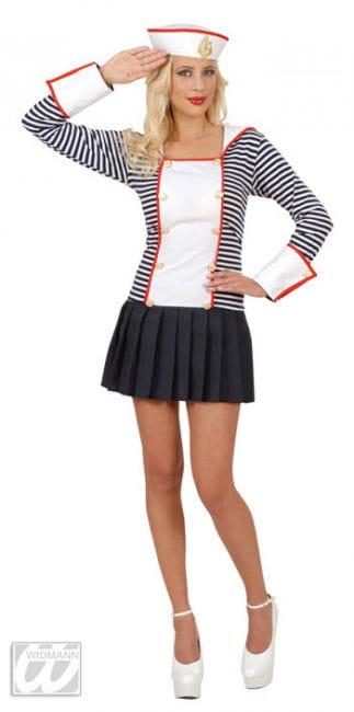 Sexy Sailor Costume Gr. L 40/42