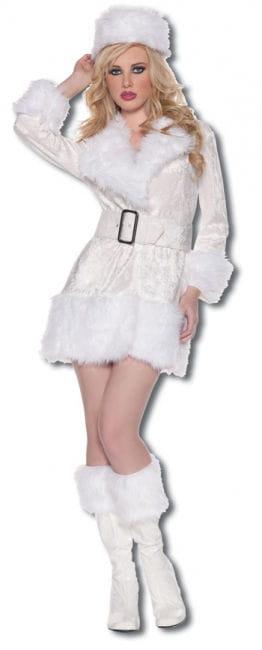 Heiße Schneekönigin Premium Kostüm Gr. M