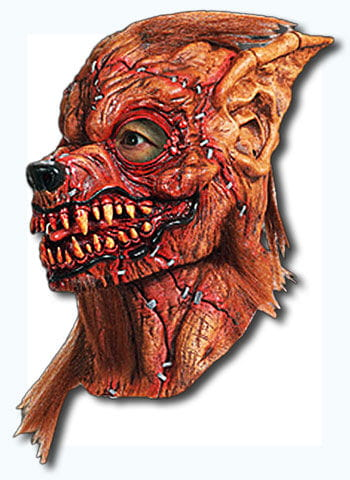 Zusammengeflickte Werwolf Maske