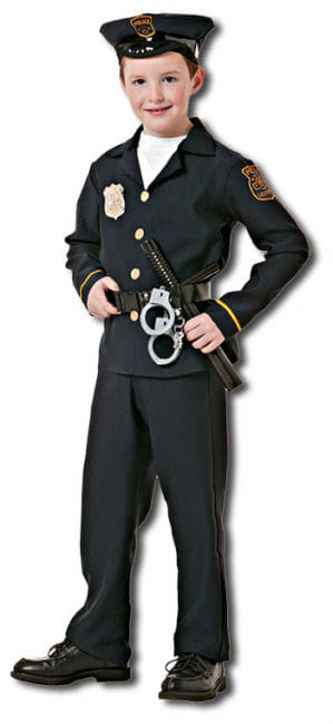 Policeman Child Costume M