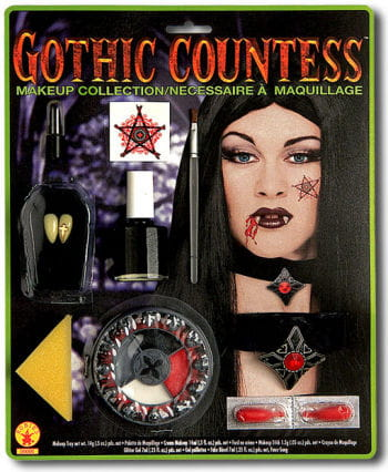 Gothic Countess Make Up Set Deluxe