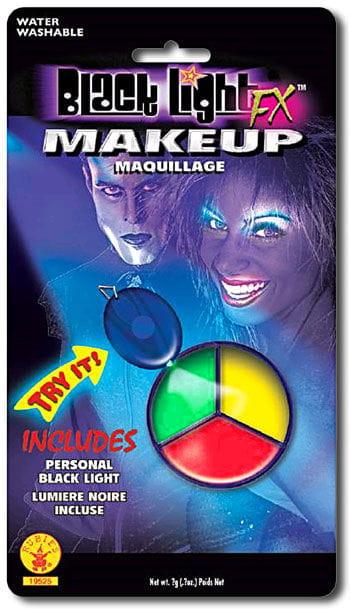 Schwarzlicht Make Up 3 farbig