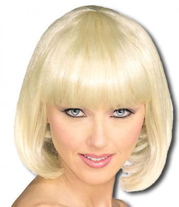 Blonde Pagenkopf Perücke