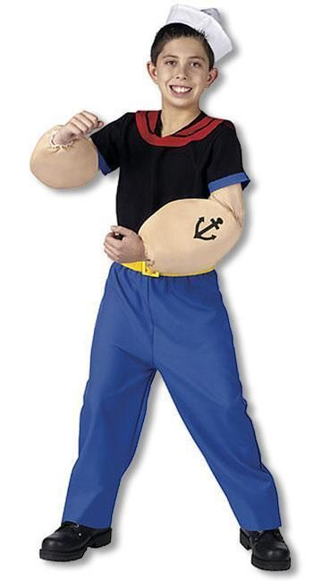 Original Popeye Child Costume M
