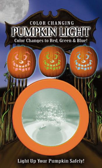 Pumpkin LED Strobe Lights