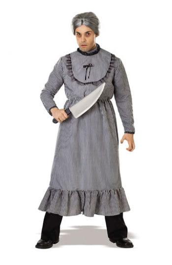 Psycho Granny Bates costume incl. Wig