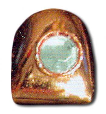 Rapper Zahn Gold mit Diamant
